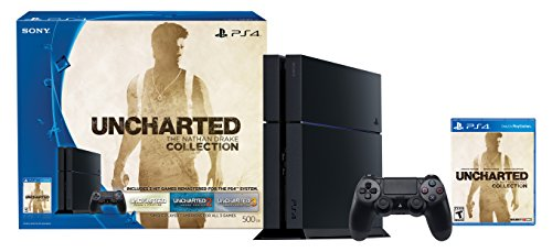 PlayStation 4 500GB Console – Uncharted: The Nathan Drake Collection Bundle (Physical Disc)[Discontinued]