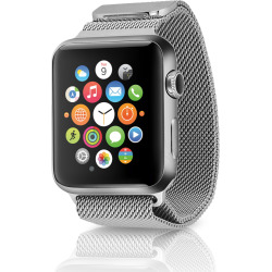 Apple Watch Series 2 w/ 38mm Stainless Steel Case & Milanese Loop – Silver (Scratch and Dent)