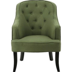 Sophia Upholstered Chair – Green – Christopher Knight Home
