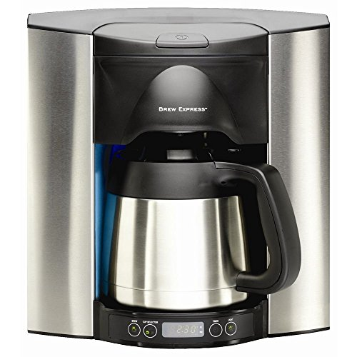 Brew Express Programmable Recessed Coffee Maker, 10 Cup