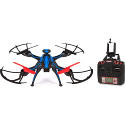 Venom Live Feed HD Camera GPS Drone 2.4GHz 4.5CH Picture/Video Camera RC Quadcopter, Multicolor