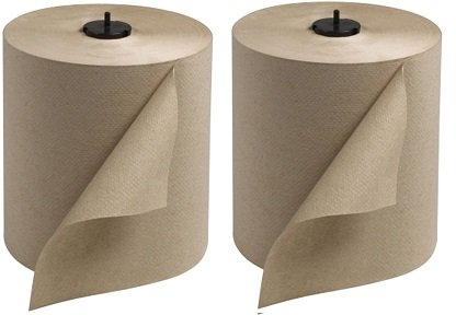 Tork 290088 Universal Single-Ply Hand Roll Towel, Natural, Pack of 6 (2-(Pack))