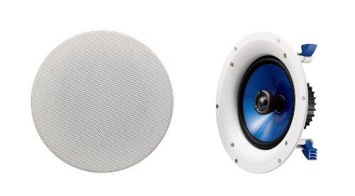 Yamaha NSIC800WH 140-Watts 2-Way RMS Speaker — White (2 Speakers)