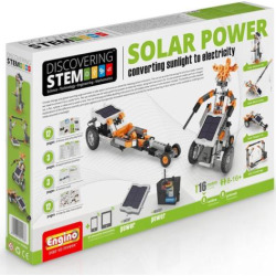 Engino S.T.E.M. Solar Power Building Set, Multicolor
