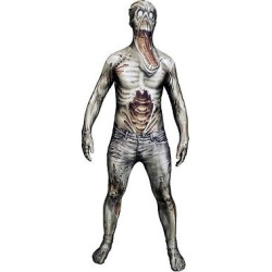 Men's Horror Costume – (XL), Gray