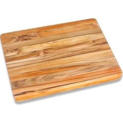 Teak Haus Edge Grain Cutting Board – 24, Wood