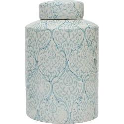 Ceramic Ginger Jar (13), Multi-Colored