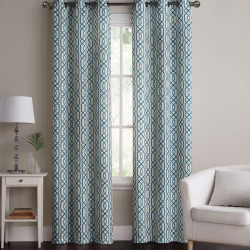 Vcny 2-pack Alexander Blackout Window Curtains, Blue