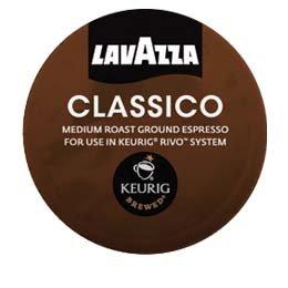 Lavazza Espresso Classico Keurig Rivo Pack, 144 Count