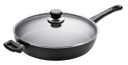 Scanpan Classic Covered Saute Pan, 12.5-Inch