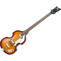Hofner Ignition Electric Violin Bass Guitar, Natural