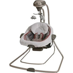 Graco DuetConnect LX Swing + Bouncer – Finley