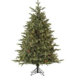 6′ Pre-Lit Led Artificial Christmas Tree Rocky Mountain Bark Pine – Warm White Lights