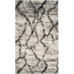 Altair Rug – Light Gray/Black (3'x5′) – Safavieh