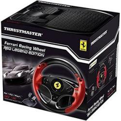 Thrustmaster – Ferrari Red Legend Edition Racing Wheel for PC