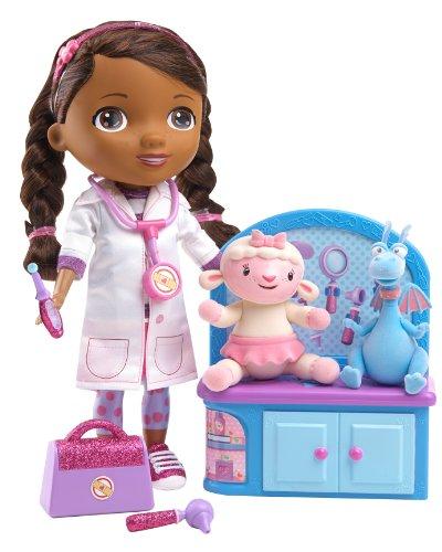 Disney Doc McStuffins Magic Talkin' Doc & Friends Doll