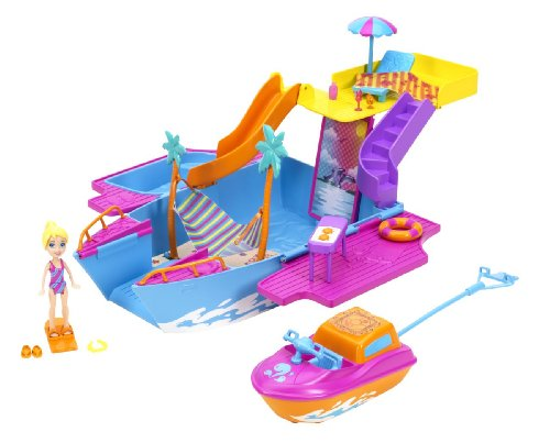 Polly Pocket Tropical Party Yacht