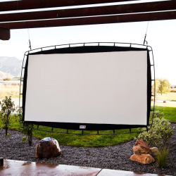 Camp Chef Outdoor Big Screen 115-Inch Portable Movie Screen, Multicolor