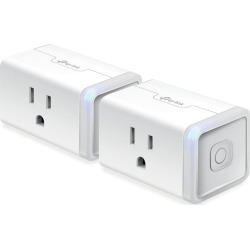 TP-Link Smart WiFi Plug Mini (2-Pack), Multicolor