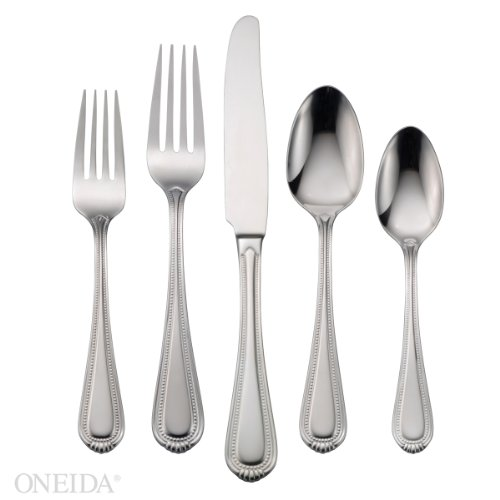Oneida Countess 65-Piece Flatware Sets, Service for 12
