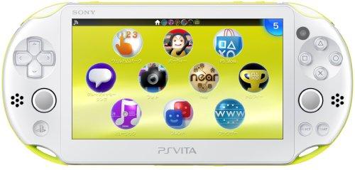 PS Vita Slim – Lime Green / White – Wi-fi (PCH-2000ZA13)