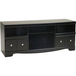 shay black lg tv stand with fireplace option signature design by ashley - Allshopathome-Best Price Comparison Website,Compare Prices & Save