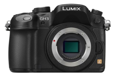 Panasonic Lumix DMC-GH3K 16.05 MP Digital Single Lens Mirrorless Digital Camera with 3-Inch OLED – Body Only (Black)