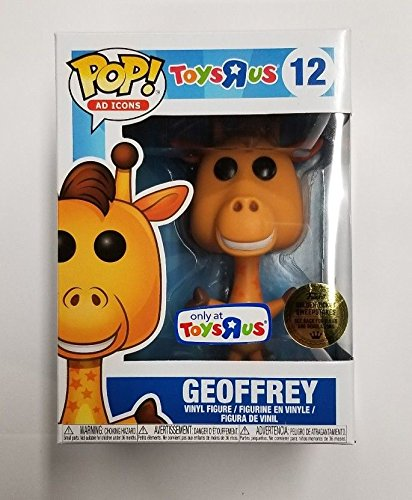 LIMITED EDITION FUNKO POP AD ICONS GEOFFREY THE GIRAFFE 12 – TOYS 'R US EXCLUSIVE VINYL FIGURE with GOLDEN TICKET CHANCE!