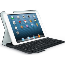 Logitech Ultrathin iPad mini Folio Case with Integrated Keyboard, Black