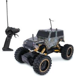 Nkok RealTree Jeep Wrangler Rock Crawler Remote Control Toy, Multicolor