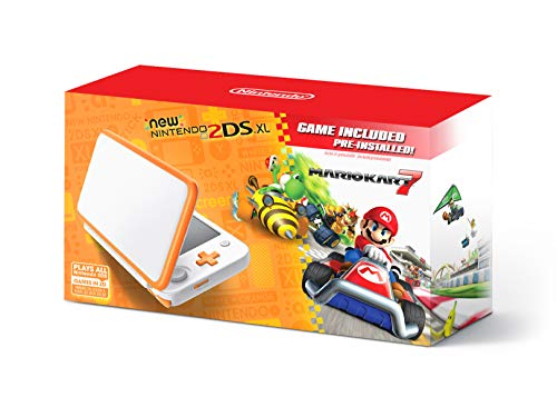 Nintendo New 3DS XL Bundle (2 Items): Nintendo New 3DS XL – Galaxy Style, and Tomee AC Adapter