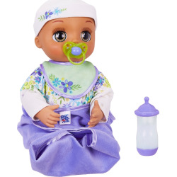Baby Alive Brunette Real As Can Be Baby Doll, Multicolor
