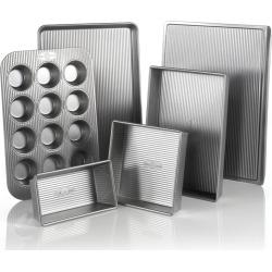USA Pan 6-pc. Nonstick Bakeware Pan Set, Grey