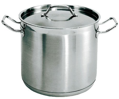 Update International (SPS-60) 60 Qt Induction Ready Stainless Steel Stock Pot w/Cover