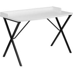 White Computer Desk – Flash Furniture