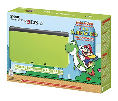 Nintendo New 3DS XL – Lime Green Special Edition [Discontinued]