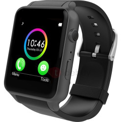 GT88 Smart Watch with Camera Water Resistant Heart Rate Monitor for Apple Android Phones