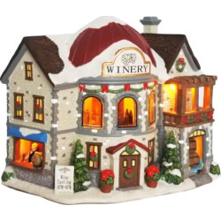 St. Nicholas Square® Village Winery with Motion, Multicolor