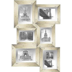 Pro Tour Memorabilia Multiple Image Frame – Off White