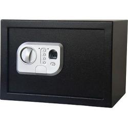 Stalwart Fingerprint Digital Steel Safe – Black