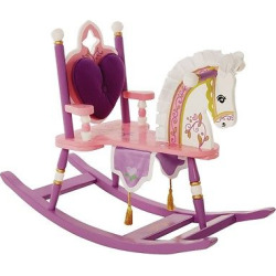 Princess Rocking Horse – Pink – Levels Of Discovery