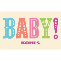 Baby! Gift Card, Multicolor