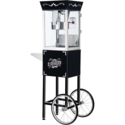 Great Northern Matinee Movie Popcorn Machine, Black