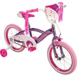 Youth Huffy N'Style 16-Inch Bike, Pink