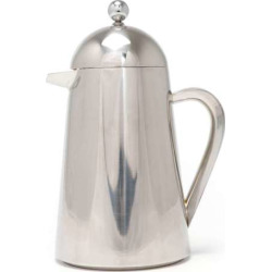 La Cafetiere Thermique 8-Cup French Press, Silver