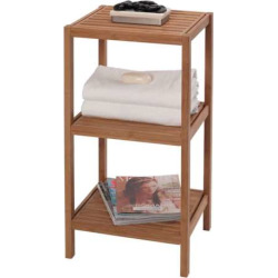 Creative Ware Home Eco Style 3-Shelf Tower, Multicolor
