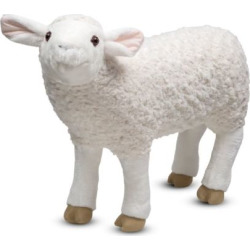 Melissa & Doug Plush Sheep, Multicolor