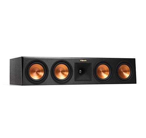 Klipsch RP-450C Center Channel Speaker – Ebony (Certified Refurbished)