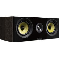 Fluance Signature Series HiFi Two-way Center Channel Speaker – Natural Walnut