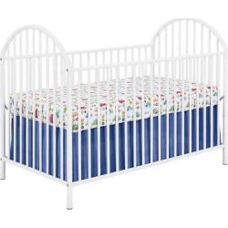 Prism Metal Crib, White, Standard Full-Sized Crib